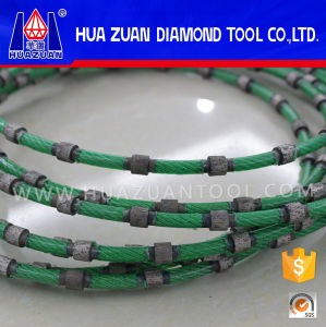 8.8mm 9.0mm Closed Diamond Wire Saw for Granite Marble pictures & photos