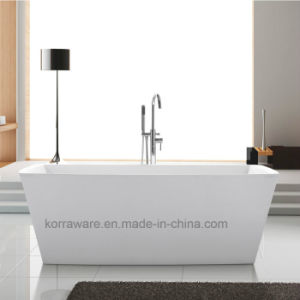 Freestanding Acrylic Bathtub with Cupc and Ce (K1502) pictures & photos