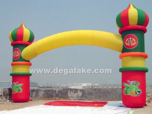 Colorful Inflatable Arch for Event Decoration, for Advertising pictures & photos