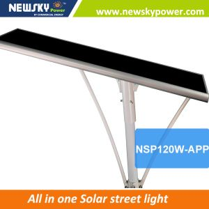 60W Cheap LED Lighting Manufacture Outdoor Integrated Solar Street Lights pictures & photos