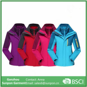 Women′s Climbing Ski Coat Sports Jacket pictures & photos