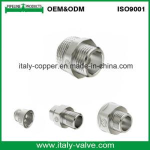 Brass Polishing Chromed Straight Pipe Coupling (AV-BF-8002) pictures & photos