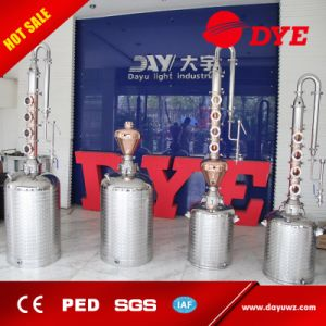 Wholsale Stainless Steel Red Copper Vodka Alcohol Distiller with Tower pictures & photos