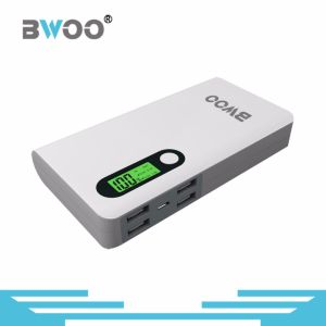 Bwoo Power Supply Big Capacity Portable Powerbank with Display pictures & photos