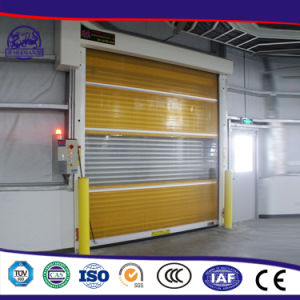 Factory Price Reveal The Grade Appearance Rolling Shutter Strong PVC Door pictures & photos