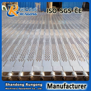 Plate Link / Hinged Slats Conveyor Belt pictures & photos