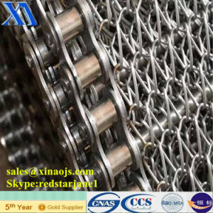 304 316 316L Stainless Steel Heat Resistant Conveyor Belt pictures & photos