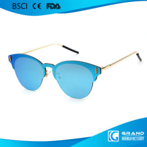 Top Selling Funny Shape Polarized Lens Metal Sunglasses for Women pictures & photos
