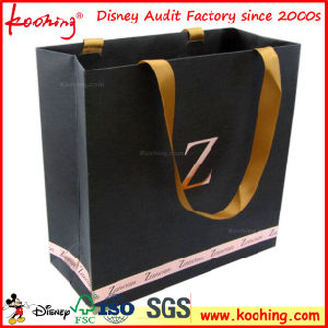 Customized Design Art Paper Handle Bags/Paper Bag for Garment Cloth pictures & photos