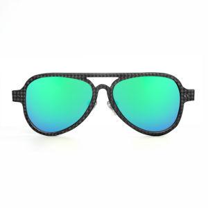 Fashion Carbon Fiber Sunglasses UV400 Polarized Promotional Unisex Sunglasses pictures & photos