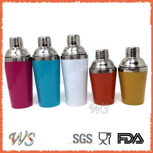 Ws-C27 350&450ml Double Wall outer as Inner Stainless Steel Cocktail Shaker pictures & photos