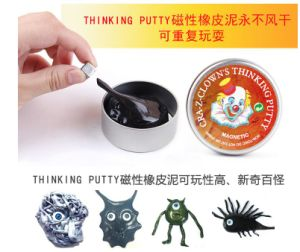 Magnetic Silly Putty Tin Box Thinking Putty New Magnetic Playdough pictures & photos