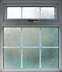 Bathroom Frosted Glass Aluminum Door and Window pictures & photos