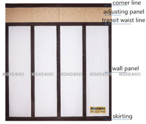 Decorative Waterproof WPC Wall Panel for Wall Design 4 (W4) pictures & photos
