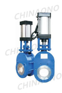Pneumatic Ceramics Flange Type Butterfly Valve Hard Seat or Soft Seat pictures & photos