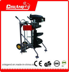 Big Power 173cc Hand Push Earth Auger for Sale with Automatic Machine pictures & photos
