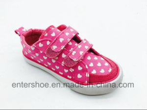 2017 Red Color Leisure Children Shoes for Junior (ET-LH160277K) pictures & photos