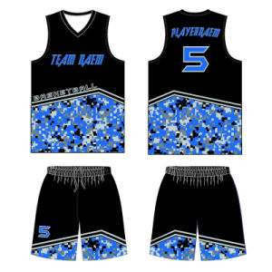 Custom Team Sublimation Basketball Shirt with Your Own Design pictures & photos