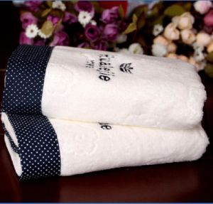 Cotton/Hotel/White/Hand Towel
