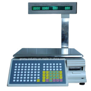 Digital Electronic Barcode Printing Scale with Pole Display (TM-AA-5b/d) pictures & photos