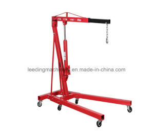 2ton Hydraulic Shop Crane Engine Cherry Picker Hoist Lift pictures & photos