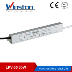 Lpv-30 Series Waterproof LED Driver Switching Power Supply with CE pictures & photos