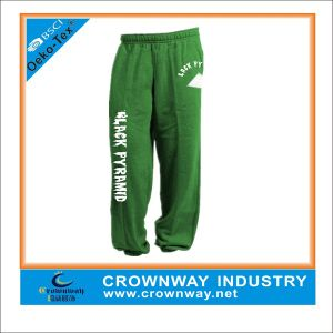 Polyester & Cotton Jogger Sweatpants Sweatpants with Logo pictures & photos