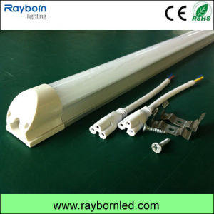 4ft Integrated LED Tube Light AC100-240V Clear Cover 100lm/W pictures & photos