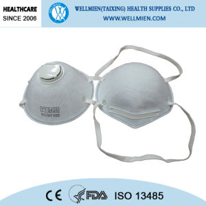 Wholesale N95 Face Mask Nose Dust Mask with Valve pictures & photos