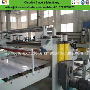 PP PE PVC Thick Plastic Sheets/Board/Panel Extrusion Machine Line pictures & photos