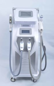 Skin Rejuvenation Freckle Vascular Acne Treatment E Light IPL RF YAG Laser Hair Removal Device pictures & photos