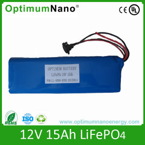 Light Weight 24V 15ah Electric Bike Batteries pictures & photos