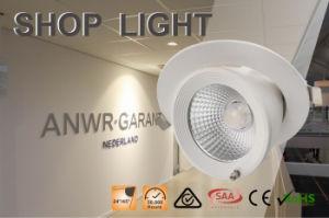 IP40 Waterproof White COB LED Shop Light