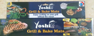 Cook BBQ Pizza Accessories Grill & Bake Mats (TV035) pictures & photos
