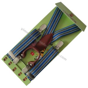 Customized Fashion Children Suspender Elastic Braces Leather Fittings pictures & photos