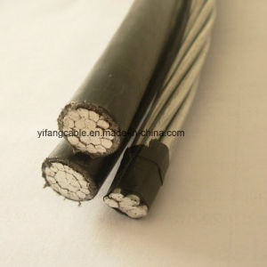 600V ABC Cable Triplex Service Drop Alumiunm Conductors AAAC 6201 Alloy Neutral pictures & photos