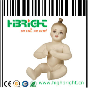 High-Quality Fiberglas Sitting Baby Model Mannequins pictures & photos