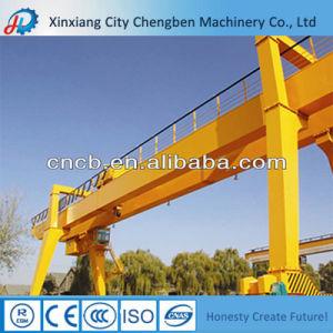 Exported High Performance Double Girder Gantry Crane 20 Ton pictures & photos