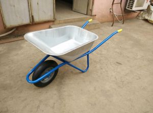 High Quality Galvanized Tray Wheel Barrow (WB5009M) pictures & photos