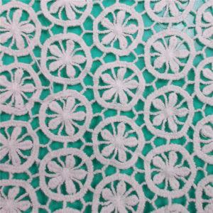 Cotton Fashion Home Textile Lace Fabric (L5110) pictures & photos