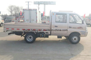 Rhd/LHD 1.2L Gasoline Double Cabine Mini /Small/ Light Cargo Lorry Truck for Sale pictures & photos