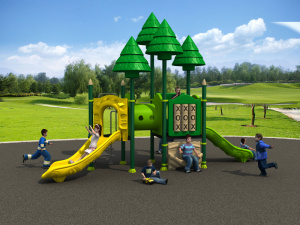 Factory Customized of Kids Outdoor/Indoor Playground Slide Hot Sell Preschool Equipment Amusement Park Woods Series (HD15A-030C) pictures & photos