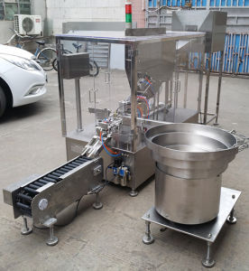 Effervescent Tablet Tube Filling Capping Machine pictures & photos