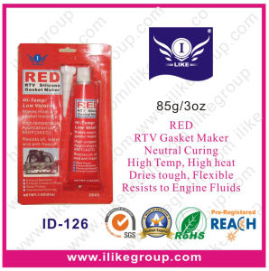 Heat Resistant Red RTV Gasket Maker (ID-126) pictures & photos