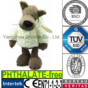 EN71 Kids Gift Soft Stuffed Animal Wolf Plush Toy pictures & photos