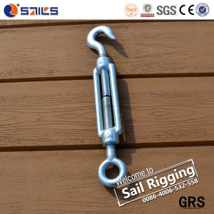 High Quality DIN 1480 Galvanized Hook and Eye Turnbuckle pictures & photos