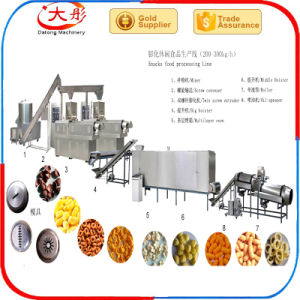 Full Automatic Kelloggs Corn Snacks Food Extruder Machine for Industrial pictures & photos