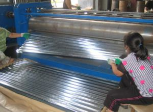 Fast Speed Roof Tile Cold Roll Forming Machine pictures & photos