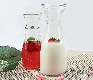Juice Drinkware Glass Bottle of Glassware Glas Jar pictures & photos