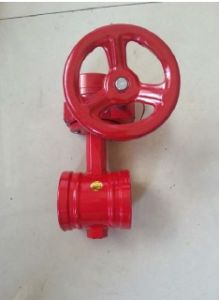Butterfly Valve with Fire Alarming Signal pictures & photos